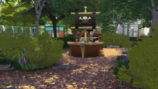 Sims 4 Sunny Court Park at MODELSIMS4