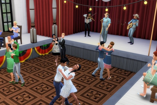 Let's Do Si Do Square Dance Outfits at Strenee Sims image 2932 670x447 Sims 4 Updates