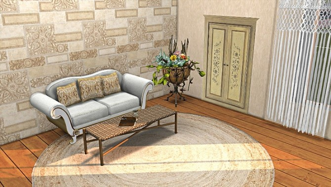 Wall Sticker old Doors by TaTschu at Blooming Rosy image 2973 670x378 Sims 4 Updates