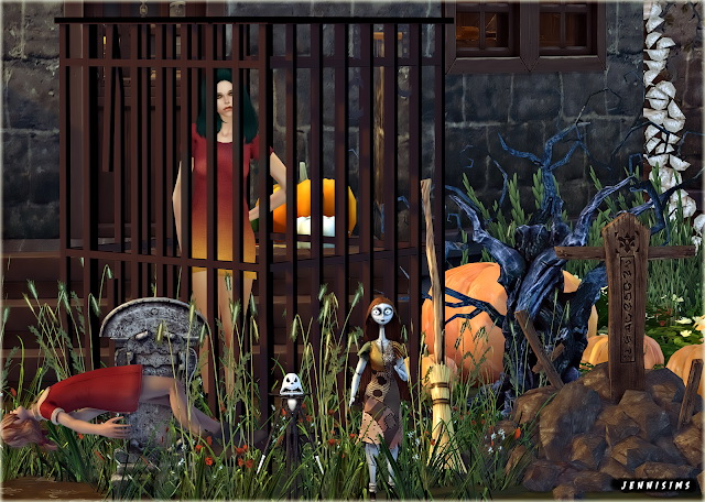 Halloween Clutter Creepy Friends 7 Items at Jenni Sims image 2992 Sims 4 Updates