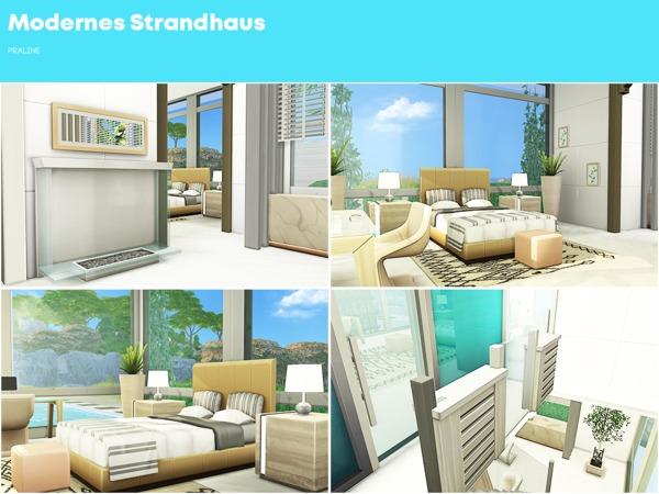 Modernes Strandhaus by Pralinesims at TSR image 3012 Sims 4 Updates