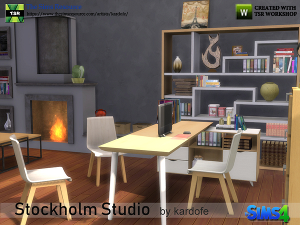 Stockholm Studio by kardofe at TSR image 3017 Sims 4 Updates