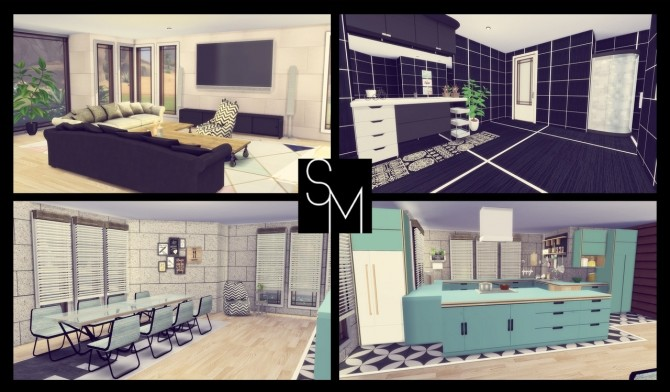 Sims 4 Cypress Trees house at Simming With Mary