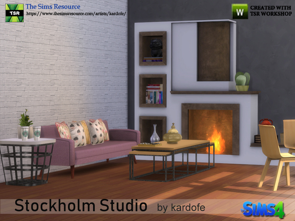 Stockholm Studio by kardofe at TSR image 3118 Sims 4 Updates