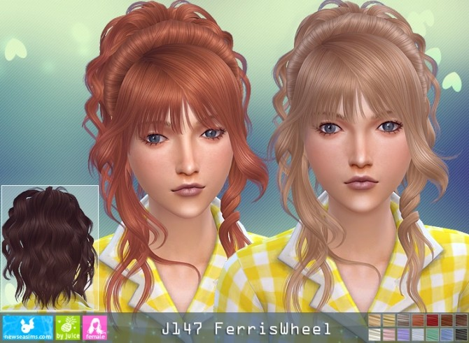 J147 Ferriswheel hair (P) at Newsea Sims 4 image 3214 670x491 Sims 4 Updates