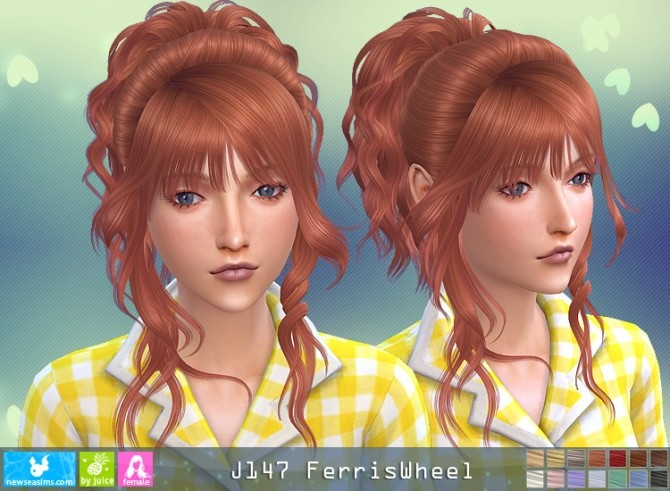 J147 Ferriswheel hair (P) at Newsea Sims 4 image 3221 670x491 Sims 4 Updates