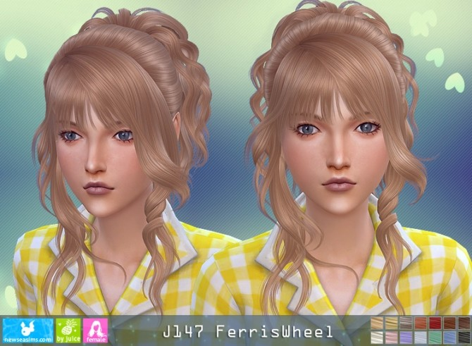 J147 Ferriswheel hair (P) at Newsea Sims 4 image 3231 670x491 Sims 4 Updates