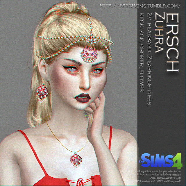 Zuhra Set at ErSch Sims image 324 Sims 4 Updates