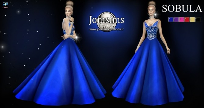 Sobula dress at Jomsims Creations image 3271 670x355 Sims 4 Updates