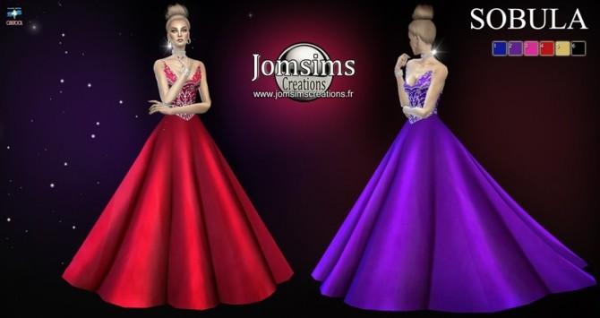 Sobula dress at Jomsims Creations image 3281 670x355 Sims 4 Updates