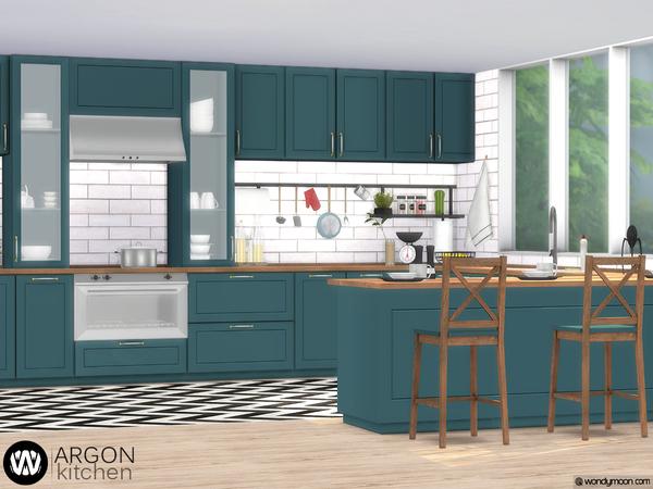 Argon Kitchen by wondymoon at TSR image 3316 Sims 4 Updates