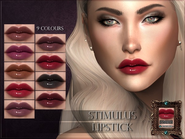Sims 4 Stimulus Lipstick by RemusSirion at TSR