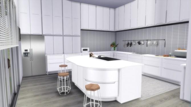 Sims 4 MODERN & LUXURY HOUSE at Dinha Gamer