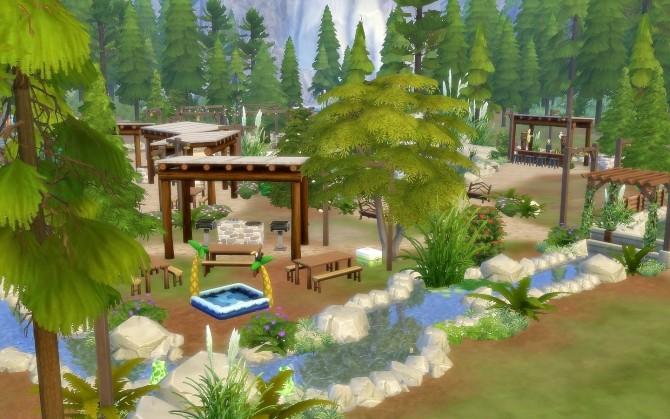 Sims 4 Granite Falls Park at Via Sims