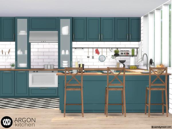 Argon Kitchen by wondymoon at TSR image 3415 Sims 4 Updates