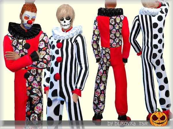 Overalls Clown by bukovka at TSR image 3422 Sims 4 Updates