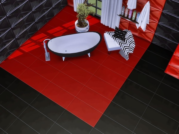 Sims 4 Pre No 3 Tiles Set by marychabb at TSR