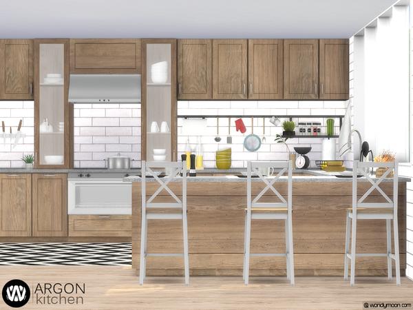Argon Kitchen by wondymoon at TSR image 3515 Sims 4 Updates