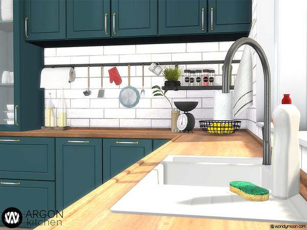 Argon Kitchen by wondymoon at TSR image 3616 Sims 4 Updates