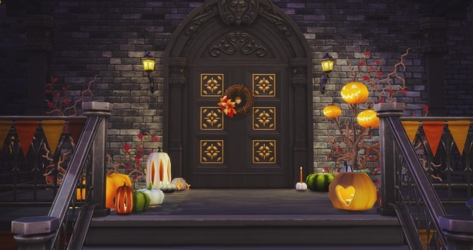Halloween Pumpkins at Pyszny Design image 3732 670x355 Sims 4 Updates