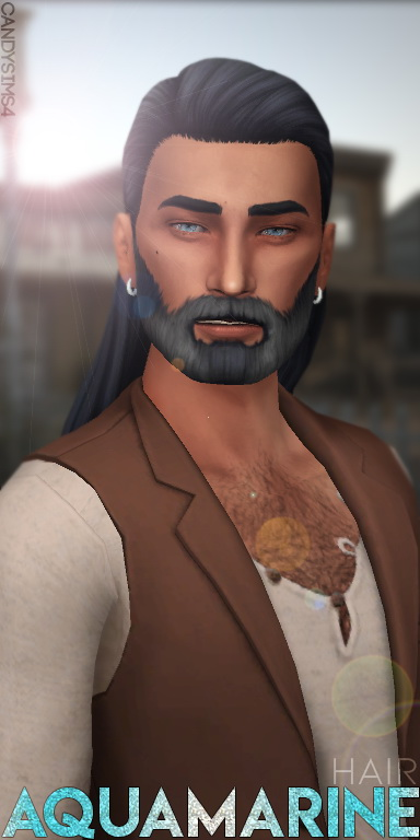 AQUAMARINE HAIR at Candy Sims 4 image 374 Sims 4 Updates