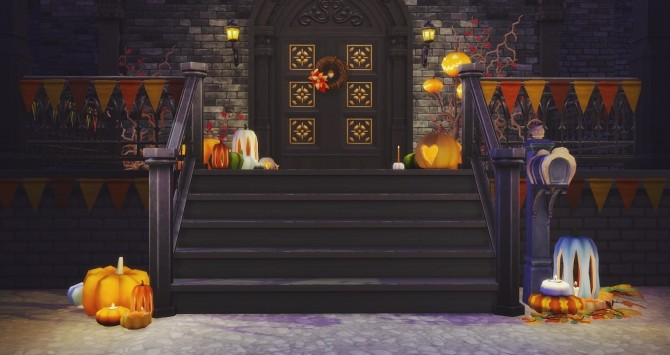 Halloween Pumpkins at Pyszny Design image 3741 670x355 Sims 4 Updates