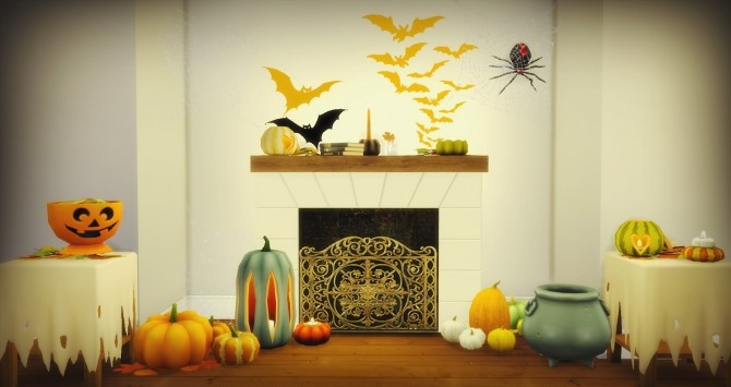 Halloween Pumpkins at Pyszny Design image 3761 670x355 Sims 4 Updates