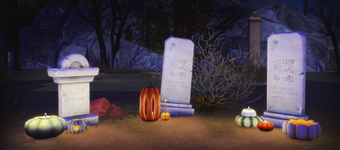 Halloween Pumpkins at Pyszny Design image 3771 670x296 Sims 4 Updates