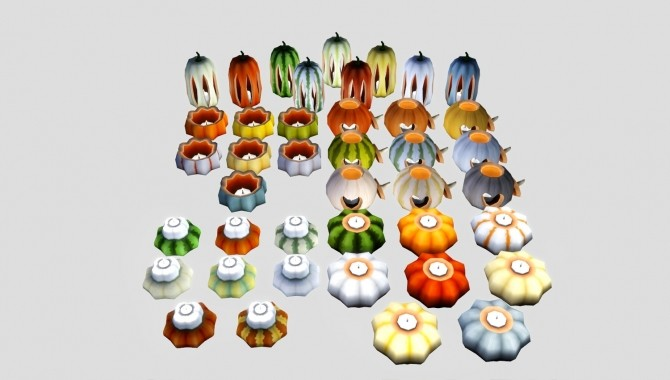 Halloween Pumpkins at Pyszny Design image 3781 670x380 Sims 4 Updates