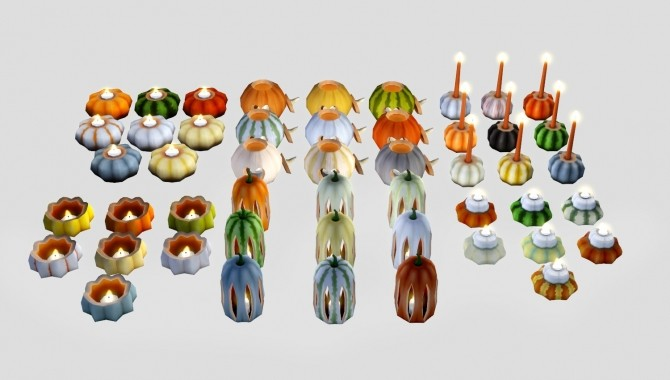 Sims 4 Halloween Pumpkins at Pyszny Design