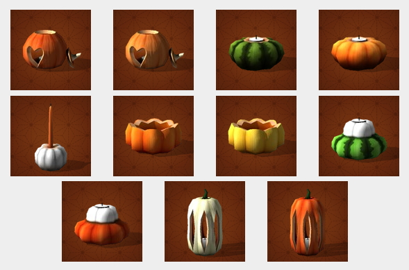 Halloween Pumpkins at Pyszny Design image 3801 Sims 4 Updates