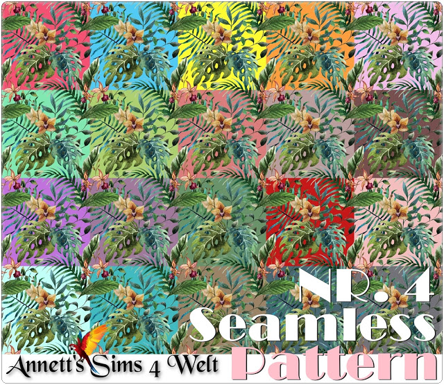 Seamless Patterns at Annett's Sims 4 Welt image 3842 Sims 4 Updates
