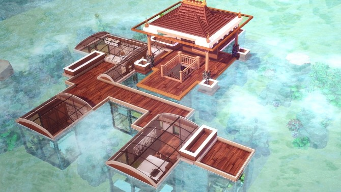 Underwater Tropical House at Akai Sims – kaibellvert image 400 670x377 Sims 4 Updates