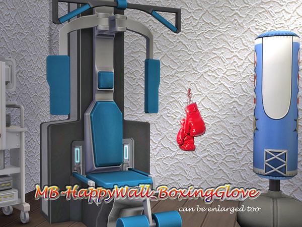 MB Happy Wall Boxing Glove by matomibotaki at TSR image 4010 Sims 4 Updates