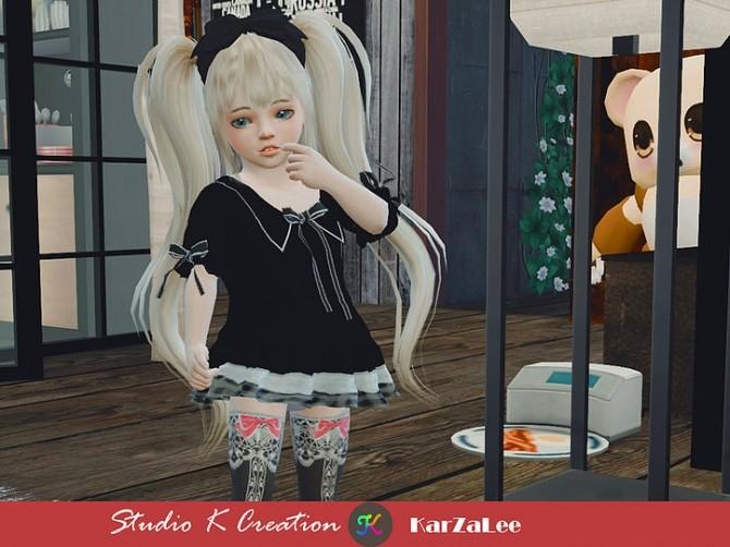 Sims 4 Type J top for toddler at Studio K Creation