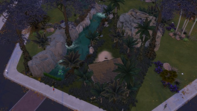 Jungle Lonely Paradise by nanosako at Mod The Sims image 426 670x377 Sims 4 Updates