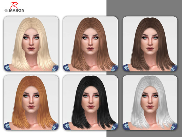 Coco Hair Retexture by remaron at TSR image 440 Sims 4 Updates