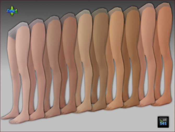2 sets of tights in natural colors and black patterned by Mabra at Arte Della Vita image 443 670x503 Sims 4 Updates
