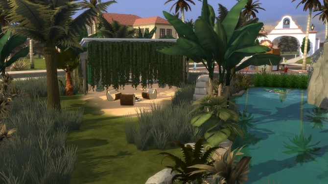 Jungle Lonely Paradise by nanosako at Mod The Sims image 446 670x377 Sims 4 Updates