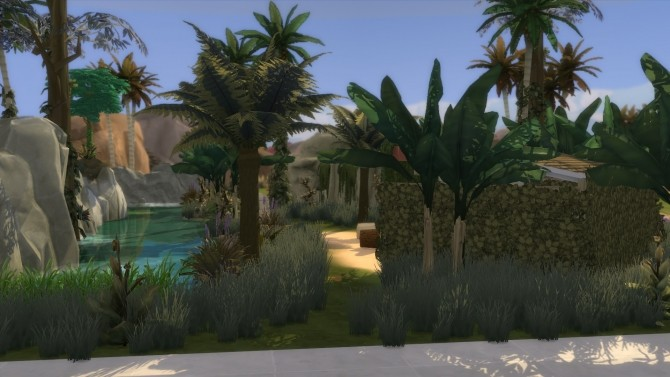 Jungle Lonely Paradise by nanosako at Mod The Sims image 456 670x377 Sims 4 Updates