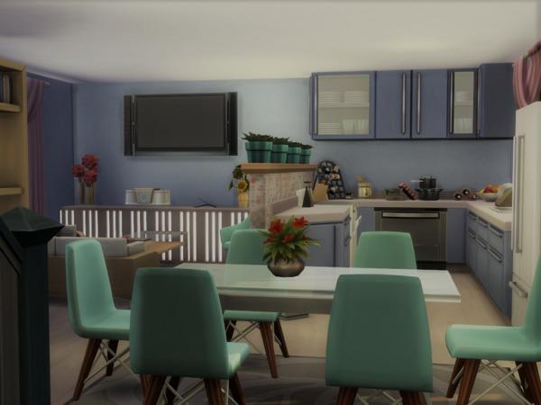 Sims 4 Small House No CC by Alibrandi at TSR