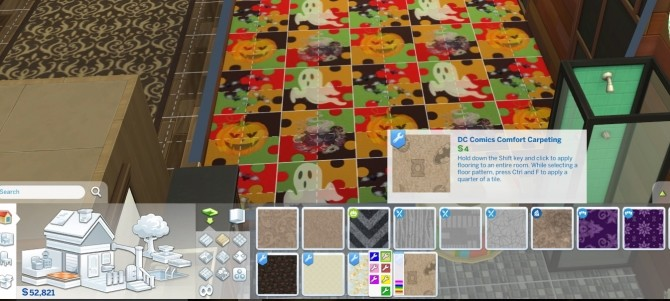 Dc Comics Hero Logo Carpet in 7 colors by NicoletteAunreel at Mod The Sims image 4816 670x301 Sims 4 Updates