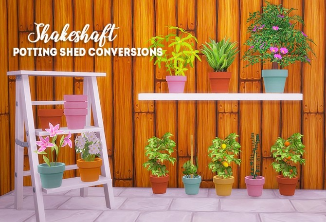 Shakeshaft potting shed conversions at Lina Cherie image 483 670x456 Sims 4 Updates
