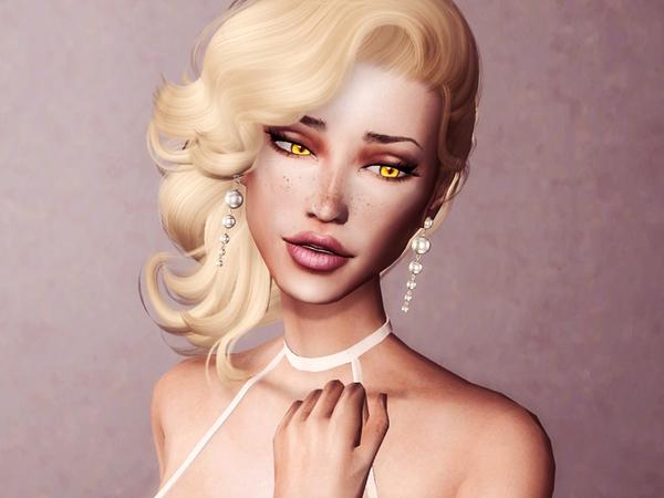 Sims 4 Under Sky Earrings by Genius666 at TSR