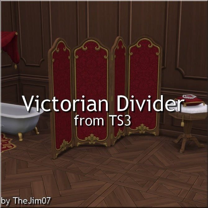 Victorian Divider from TS3 by TheJim07 at Mod The Sims image 5110 670x670 Sims 4 Updates