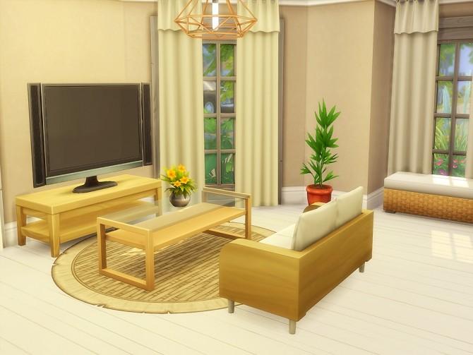 Sims 4 Chape House at MSQ Sims