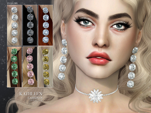 Kathleen Earrings by Pralinesims at TSR image 525 Sims 4 Updates