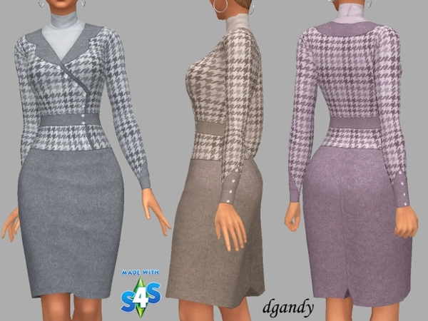 Sims 4 Beth outfit by dgandy at TSR