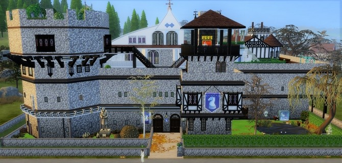 Medieval vonWinden Castle by helene912 at Mod The Sims image 5418 670x320 Sims 4 Updates
