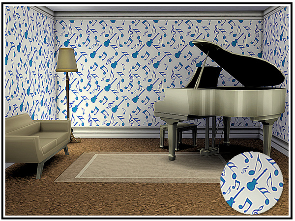 Musicale 2 Walls by marcorse at TSR image 544 Sims 4 Updates